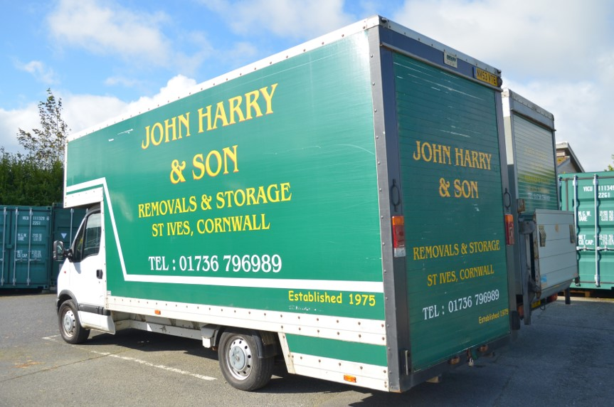 Removal Service in Cornwall John Harry